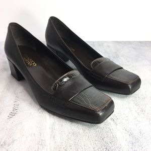 Franco Sarto L Fever Leather Loafers Size 7M
